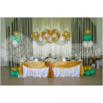 Оформление шарами на свадьбу «Комплект № 16»